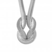 Knot Halsband - Silver