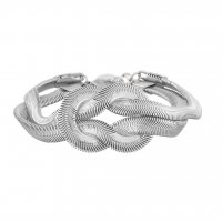 Knot Armband - Silver