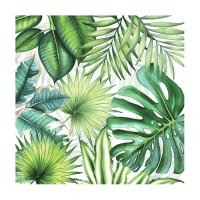 Servett Tropical Leaves 20-pack