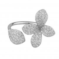 Fiona Open Ring - Silver