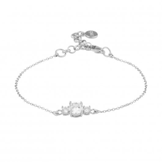 Duo Armband - Silver