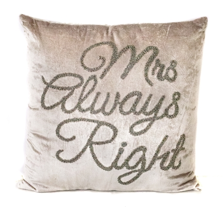 Mrs Always Right Grå